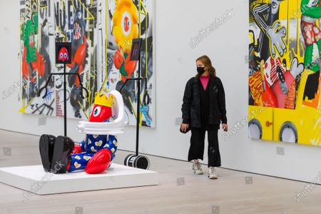 Editorial picture of Philip Colbert, 'Lobsteropolis' exhibition at the Saatchi Gallery in London, United Kingdom - 29 Oct 2020