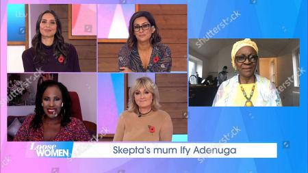 Stock Picture of Christine Lampard, Saira Khan, Kelle Bryan, Jane Moore, Ify Adenuga