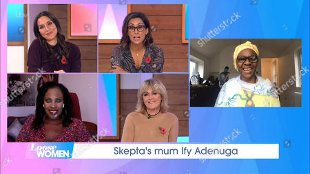 Editorial image of 'Loose Women' TV Show, London, UK - 29 Oct 2020