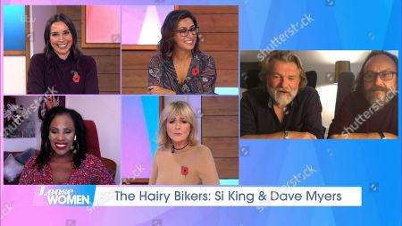 Editorial image of 'Loose Women' TV Show, London, UK - 29 Oct 2020