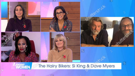 Christine Lampard, Saira Khan, Kelle Bryan, Jane Moore, Dave Myers and Si King