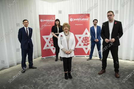 Editorial photo of Jewish Labour Movement press conference, London, United Kingdom - 29 Oct 2020