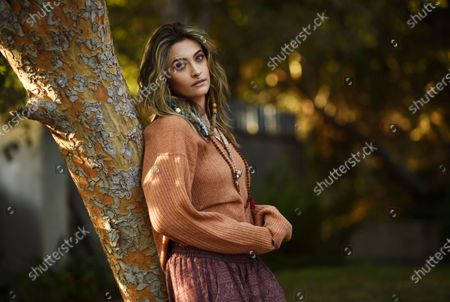 """Paris Jackson poses for a portrait in Beverly Hills, Calif.,, to promote her debut solo album """"Wilted,"""" releasing on Nov. 13. Her new single """"Let Down"""" drops Friday, Oct. 30"""