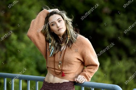 Singer-songwriter Paris Jackson poses for a portrait, in Beverly Hills, Calif