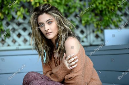Stock Photo of Singer-songwriter Paris Jackson poses for a portrait, in Beverly Hills, Calif