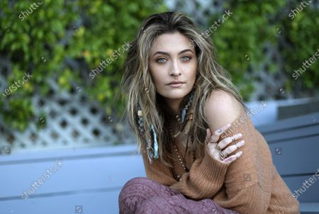 Editorial photo of Paris Jackson Portrait Session, Beverly Hills, United States - 27 Oct 2020