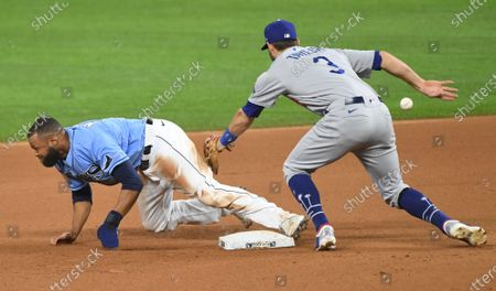 Editorial picture of Los Angeles Dodgers v Tampa Bay Rays, World Series, Baseball, Arlington, Texas, USA - 25 Oct 2020