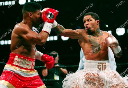 Editorial image of Davis Santa Cruz Boxing, Atlanta, United States - 29 Dec 2019