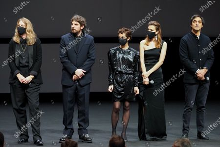 Editorial picture of Best Short Film Palme D'Or Award Ceremony, Special Cannes 2020, France - 29 Oct 2020