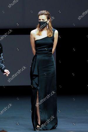 """Jury member Celine Sallette attends the Best Short Film Palme D'Or Award Ceremony of the """"Special Cannes 2020 : Le Festival Revient Sur La Croisette !"""" as part of the Cannes Film Festival at Palais des Festivals"""
