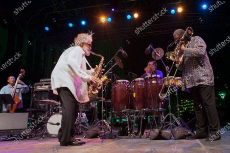 Sonny Rollins, his last performance in public at Detroit Jazz Festival on August 31st, 2012.