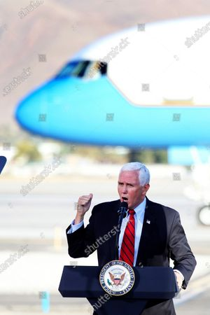 Editorial photo of Election 2020 Pence, Reno, United States - 29 Oct 2020