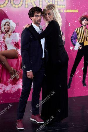 Stock Photo of Bibiana Fernandez and Cayetano Fernandez