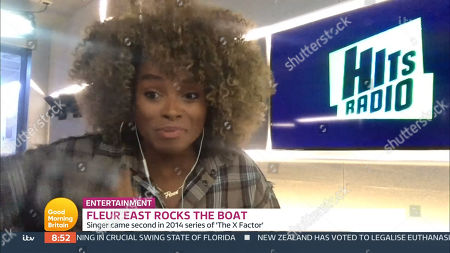 Editorial photo of 'Good Morning Britain' TV Show, London, UK - 30 Oct 2020