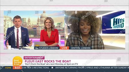 Editorial image of 'Good Morning Britain' TV Show, London, UK - 30 Oct 2020
