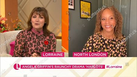 Lorraine Kelly and Angela Griffin