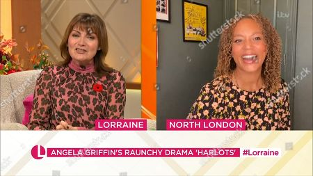 Editorial picture of 'Lorraine' TV Show, London, UK - 30 Oct 2020