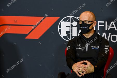 Simon Roberts, Acting Team Principal, Williams Racing, in a Press Conference during the 2020 Formula One Emilia Romagna Grand Prix