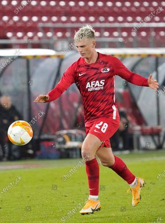 Albert Gudmundsson during UEFA Europa League 2020/2021 Group Stage between AZ Alkmaar vs HNK Rijeka on Octobre 29. 2020 in AZ Stadion Alkmaar, Netherlands
