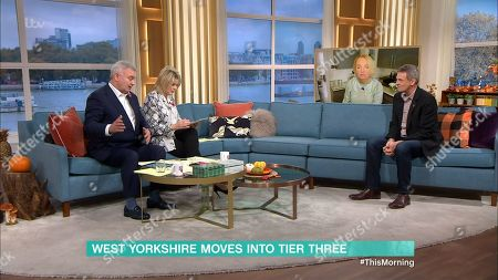 Eamonn Holmes, Ruth Langsford, India Willoughby and Matthew Wright
