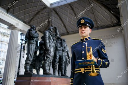 Editorial photo of Bomber Command Memorial service goes virtual, London, UK - 29 Oct 2020