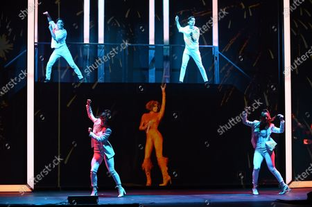 Editorial photo of An Evening With Whitney musical in Madrid, Spain - 30 Oct 2020