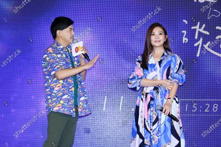 Immagine editoriale Fish Leong promotes her concert 'When We Talk About Love', Taipei, Taiwan, China - 29 Oct 2020