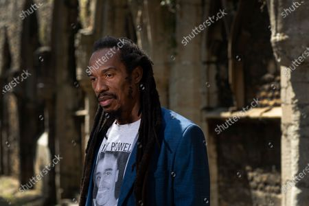 Editorial image of Benjamin Zephaniah photoshoot, Peterborough, UK - 23 Jun 2020