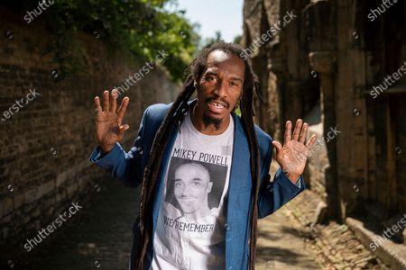 Editorial photo of Benjamin Zephaniah photoshoot, Peterborough, UK - 23 Jun 2020