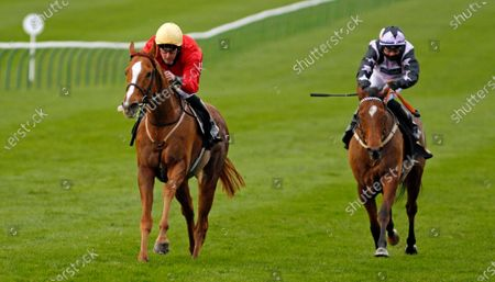 AWAKE MY SOUL (Tom Queally) wins The Play 3-2-Win At Mansionbet Handicap Newmarket