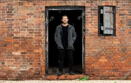 Stock Image of Former England Rugby Union Captain Dylan Hartley at his home in Northamptonshire.