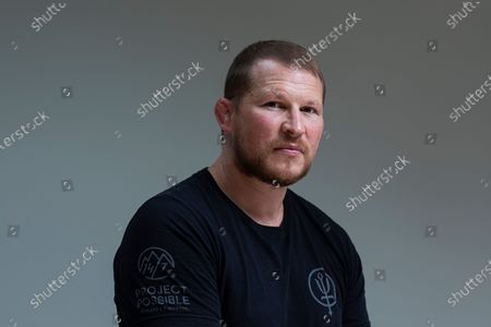 Former England Rugby Union Captain Dylan Hartley at his home in Northamptonshire.