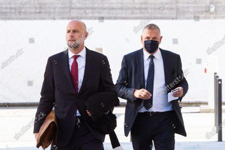 Editorial photo of Trial of former FIFA secretary general Jerome Valcke, Bellinzona, Switzerland - 30 Oct 2020