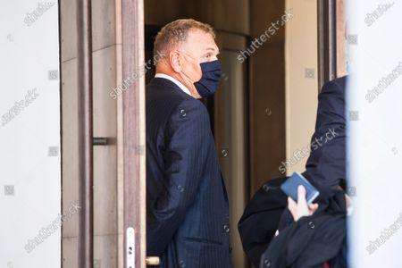 Editorial image of Trial of former FIFA secretary general Jerome Valcke, Bellinzona, Switzerland - 30 Oct 2020