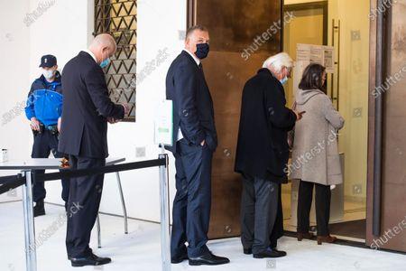 Editorial picture of Trial of former FIFA secretary general Jerome Valcke, Bellinzona, Switzerland - 30 Oct 2020