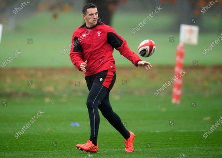 Owen Watkin during training.