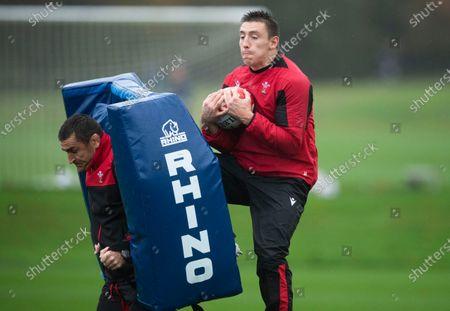 Wales Rugby Training - 30 Oct 2020 témájú szerkesztői kép
