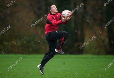 Wales Rugby Training - 30 Oct 2020 témájú szerkesztői fénykép