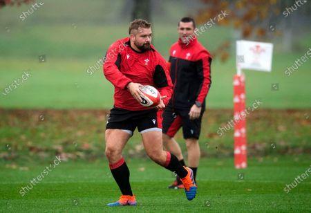 Tomas Francis during training.