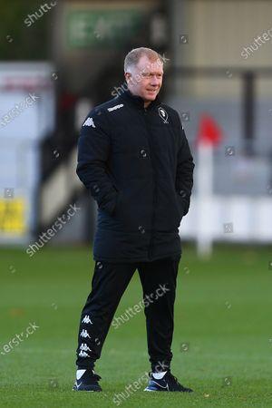 Paul Scholes, interim manager of Salford City