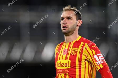 Stock Photo of Branislav Ivanovic of West Bromwich Albion