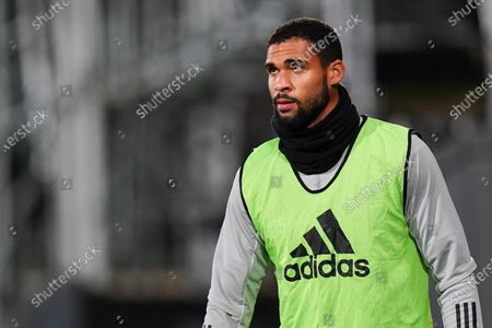 Substitute Ruben Loftus-Cheek of Fulham looks on from the sideline