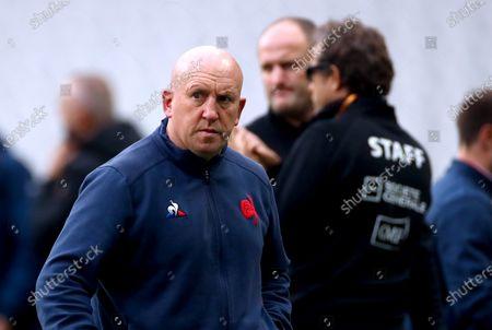 Defence coach Shaun Edwards