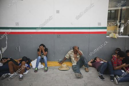 Editorial photo of Immigration-Waiting in , Matamoros, Mexico - 01 Aug 2019