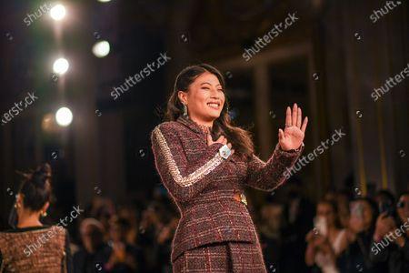 Princess of Thailand Sirivannavari Nariratana seen during the Sirivannavari Autumn / Winter 2020-2021 collection French Flair Runway show at Mandarin Oriental.