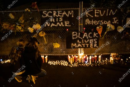 Redaktionelle Aufnahme von Police Shooting Washington, Vancouver, United States - 30 Oct 2020