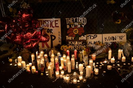 Redaktionelles Bild von Police Shooting Washington, Vancouver, United States - 30 Oct 2020