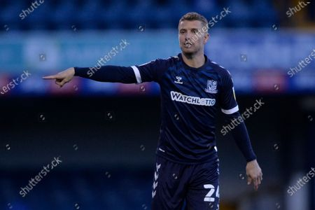 Jason Demetriou of Southend in action during Sky Bet League Two match between Southend and Port Vale at Roots Hall in Southend, UK - 31st October 2020