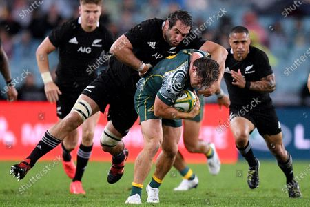 Editorial photo of Third Bledisloe Cup Rugby match in Sydney, Australia - 31 Oct 2020