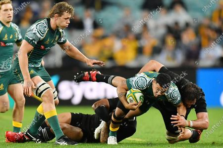 Editorial image of Third Bledisloe Cup Rugby match in Sydney, Australia - 31 Oct 2020